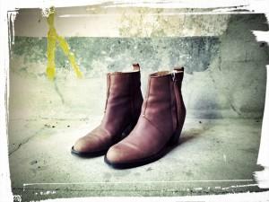 Acne Pistol Boots in Braun Gr.37 (38) ;-(