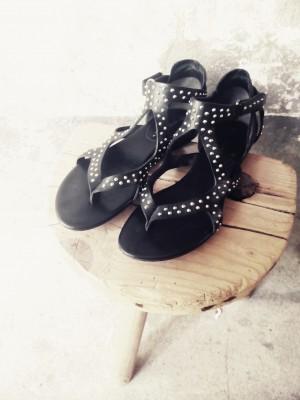 Sandalette in Echtleder Gr.39; 40€