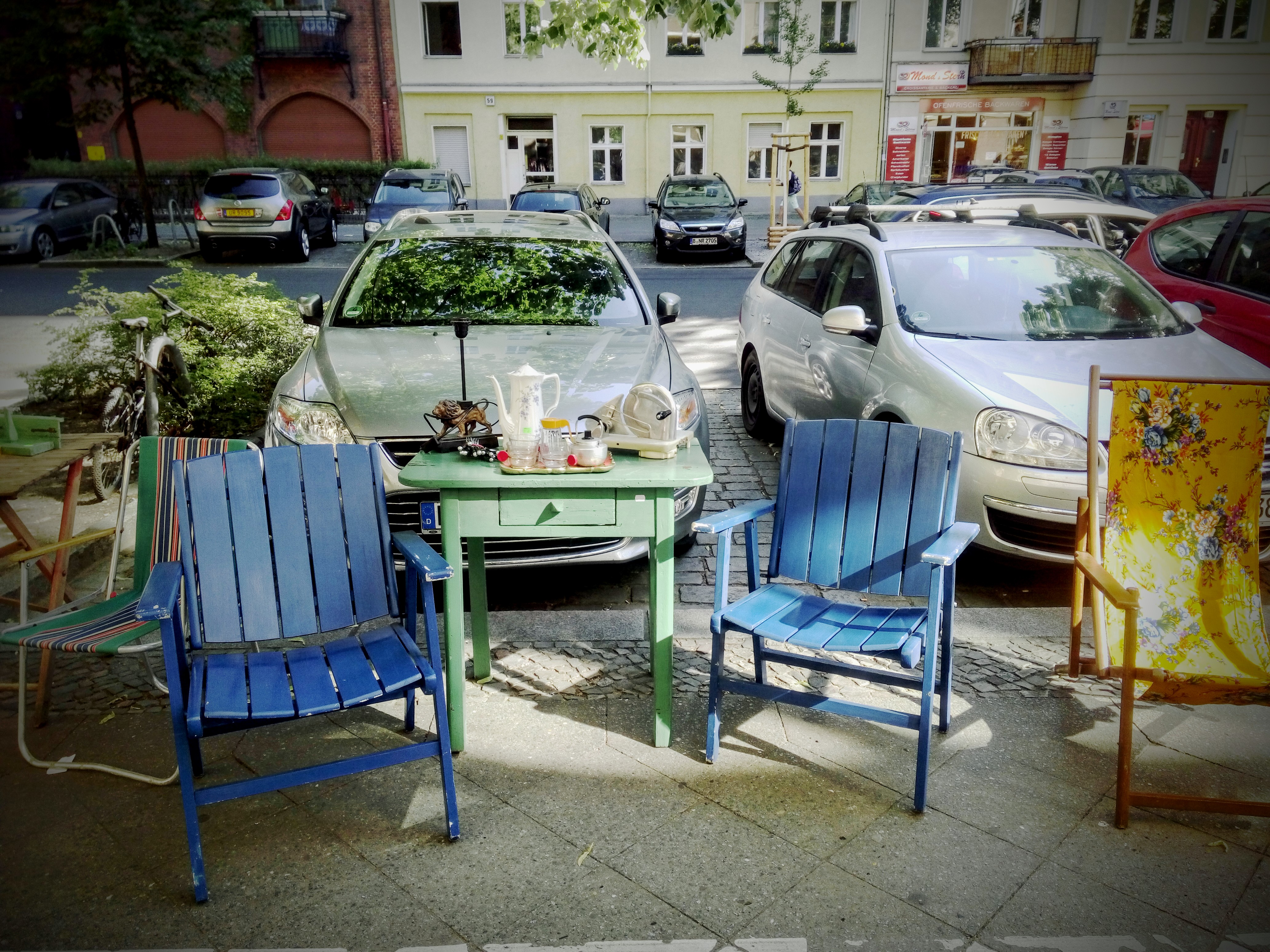 Vintage Gartenmöbel im Edeltrash!